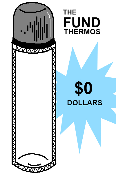 The Thermos Fund is at $0.00!
